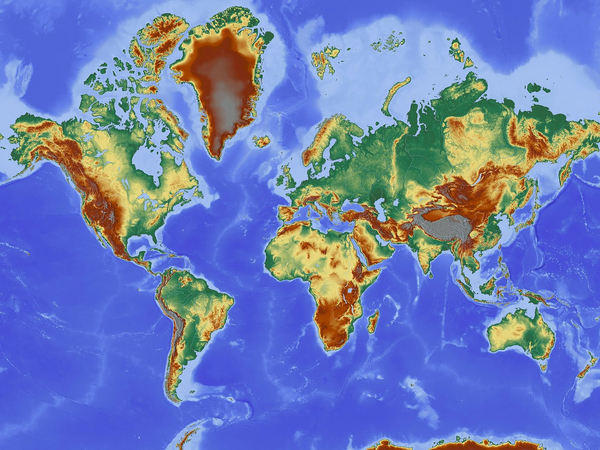 Olika typer av kartor–läromedel i geografi åk 4–6