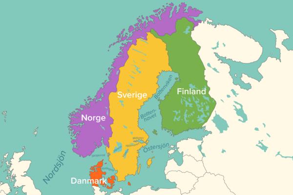 Sveriges namngeografi – läromedel i geografi åk 4–6