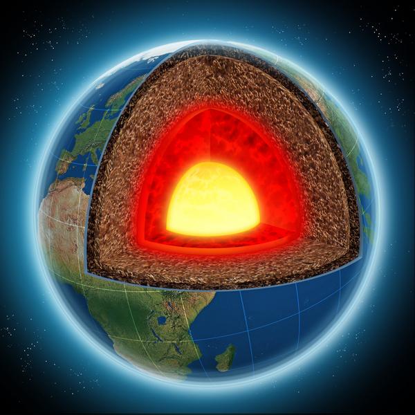 Resa till jordens mitt - läromedel till lektion om jordens inre åk 4,5,6